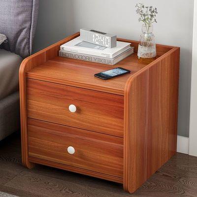 床头柜子小型简约小柜子现代卧室床边柜储物柜床头置物架收纳柜