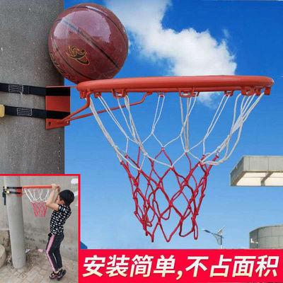 免打孔室外家用儿童挂式篮球框学生训练篮球架投篮框可扣篮成人