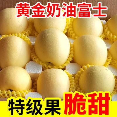 黄金奶油富士苹果3/10斤装正宗脆甜新鲜应季水果批发孕妇当季现摘