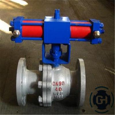 铸钢液动球阀Q741F硬密封液压球阀Q741Y液动固定球球阀Q747FQ747Y