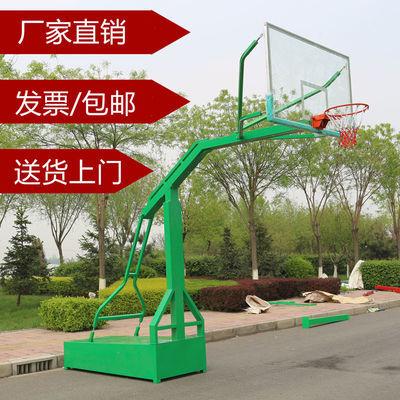篮球架户外室外移动标准可扣篮成人家用篮球板架子投篮地埋