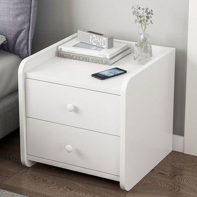 北欧床头柜置物架简约现代床边柜子迷你小型储物柜简易卧室收纳柜