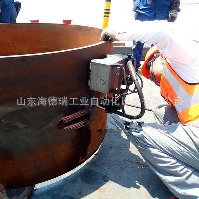 全自动小车焊接机 环缝焊管机器 磁力爬行管道焊接小车圆管自动焊
