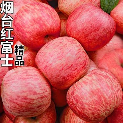 山东烟台栖霞苹果自家正宗红富士当季新鲜水果5斤10斤