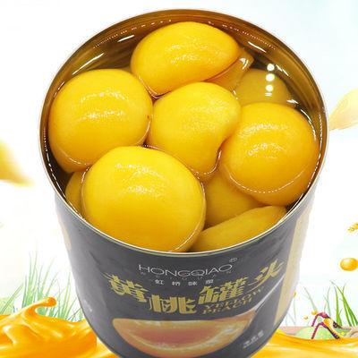 3公斤黄桃罐头餐饮罐头新鲜水果罐头烘培糖水砀山黄桃罐头6斤包邮