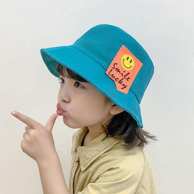 儿童渔夫帽夏天遮阳帽男童潮薄款春秋季男孩2021新款中大童防晒帽