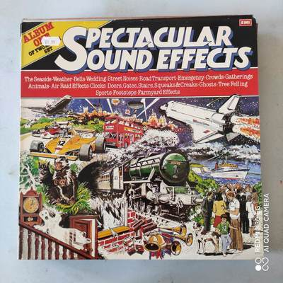 spectacular sound effects 12寸黑胶LP NM 111