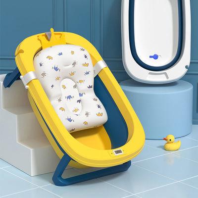 贝吉萨婴儿洗澡盆浴盆宝宝可折叠坐躺加大号洗澡桶家用小孩新生儿