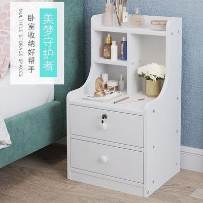 简易床头柜小型床边收纳柜卧室迷你小柜子出租房特价床头置物架