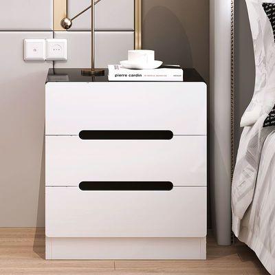 床头柜简约现代迷你小型置物架简易收纳小柜子卧室床边储物柜北欧