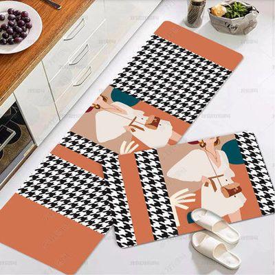 厨房家用地垫地毯吸水防油地毯长条垫脚垫门垫进门防滑门口蹭脚垫