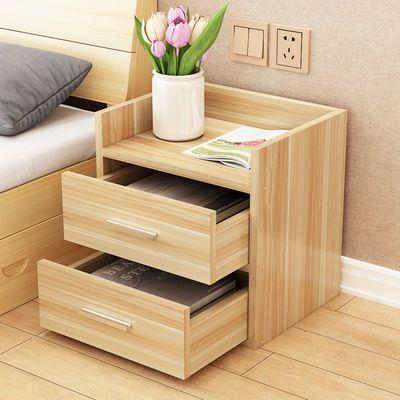 床头柜置物架简约现代轻奢储物柜简易卧室床边柜子迷你小型收纳柜