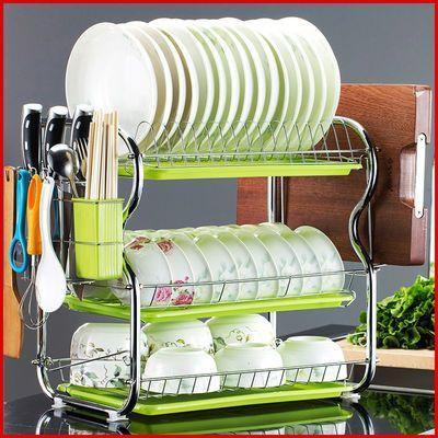 碗碟架沥水碗架收纳架厨房置物架用品小百货碗筷收纳盒刀架筷子筒