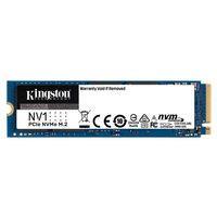 金士顿 500GB 1TB SSD固态硬盘 M.2接口 NVMe协议 NV1系列 262元