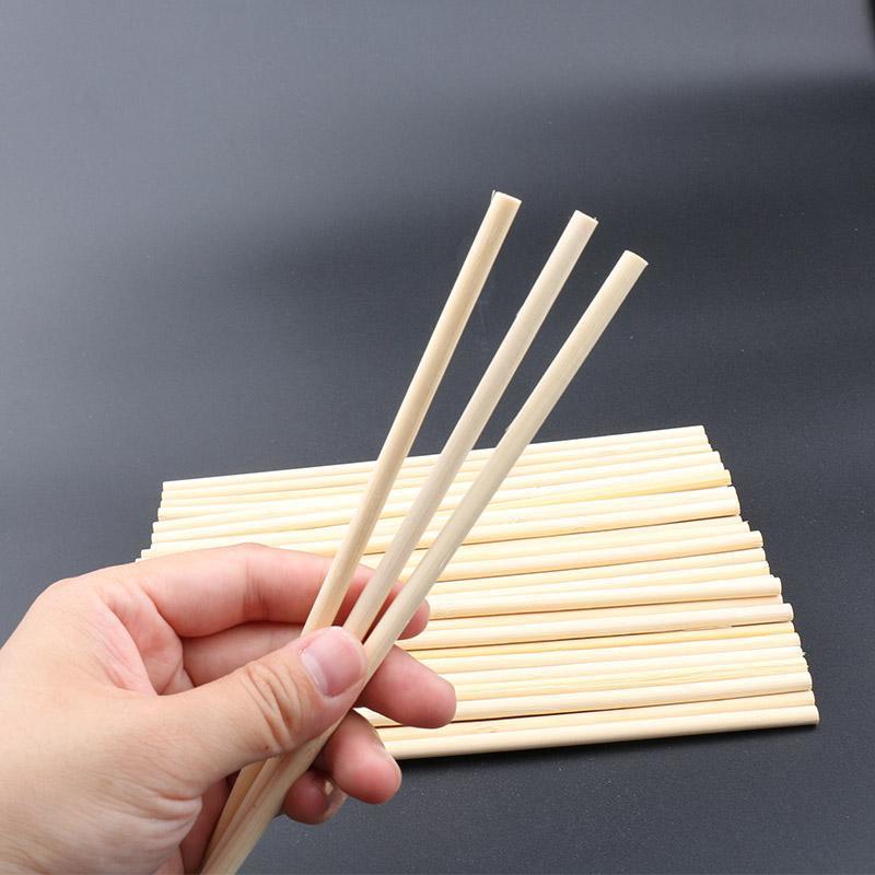 一次性筷子diy手工制作房子别墅摩天轮散装筷子工艺品小圆棒竹棒