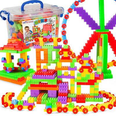【大颗粒】宝宝积木小猪佩奇玩具益智早教拼装拼插男女孩儿童玩具