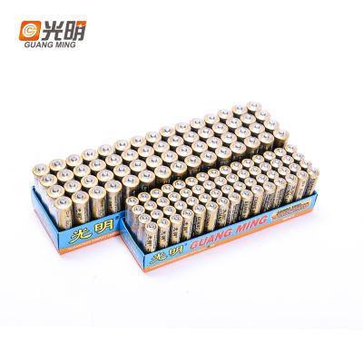 【居家必备】光明5号7号干电池通用性碳性AAA电池空调玩具多规格