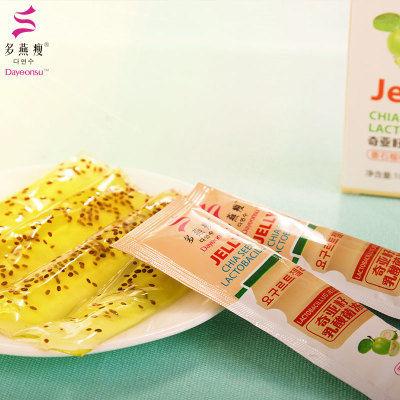 【官方旗舰店】郑多燕酵素果冻奇亚籽乳酸菌条水果孝素代餐清宿便