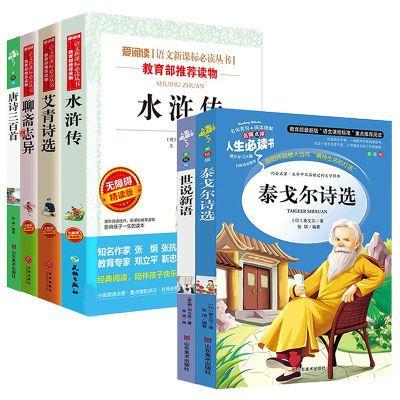 艾青诗选水浒传泰戈尔诗语文新课标必读丛书九年级上册指定课外书