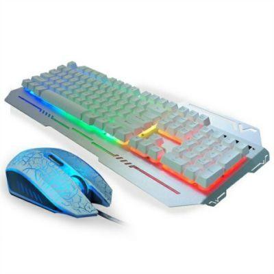磁悬浮游戏本吃鸡辅助铜氨丝套装外接键盘鼠标钓椅刺激战场有线鼠