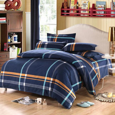 床罩件套床上用品床单件套宿舍单人花边粗布枕套被子夏天单件住校