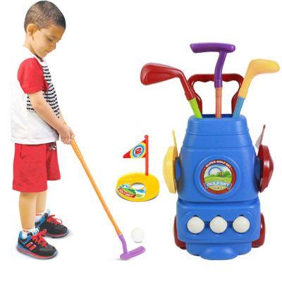 儿童高尔夫球杆套装玩具宝宝户外亲子运动玩具