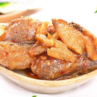即食香酥黄花鱼肉250g/500g独立小包装无刺休闲零食真空包装