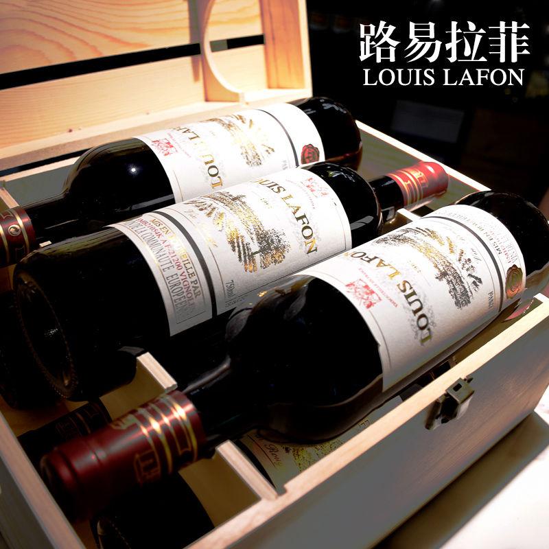 路易拉菲法国原瓶进口红酒干红葡萄酒6瓶整箱装