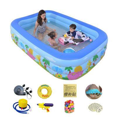 游泳池洗澡玩具会下雨云朵男孩子叶罗丽充气城堡家用气垫池女玩的
