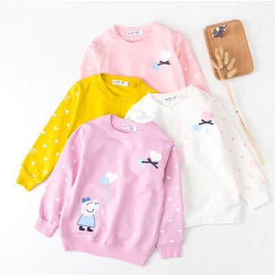 童装女童长袖T恤秋装儿童女孩上衣中小童女装秋季打底衫小孩衣服