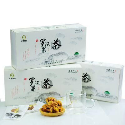 广西桂林特产永福罗汉果 果芯茶止咳清肺润喉 低温脱水袋装礼盒装