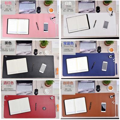 鼠标垫超大笔记本电脑垫桌垫办公桌垫书桌垫写字台垫皮面防水加长