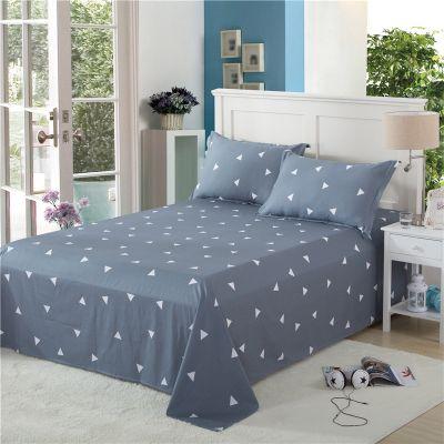 床罩粗布件套圆床件套被棉枕套单人单件裙子床单被罩隔脏床单套床