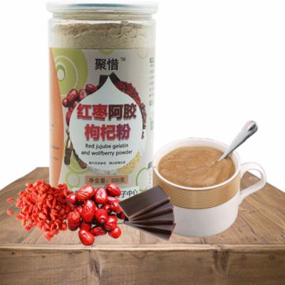 500g聚惜红枣阿胶枸杞代餐粉