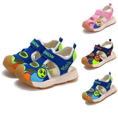 小学生夏籍宝宝凉鞋夏平跟凉鞋女女童韩版民族风生韩版罗马跛生鞋