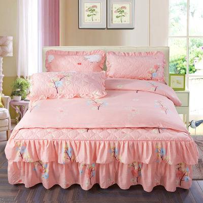 床单被罩单人宿舍件套床上用品双人单件件套被件粗布床人水洗棉凉