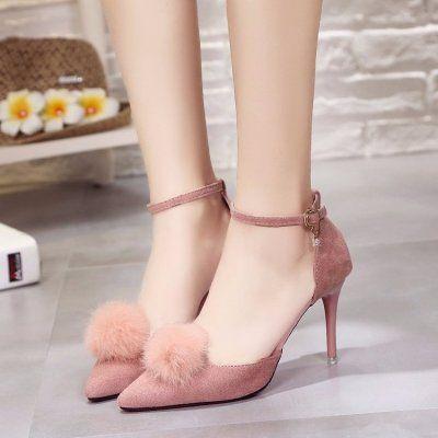 2018夏季新款凉鞋女鞋浅口罗马风休闲舒适潮流时尚明星同款包邮