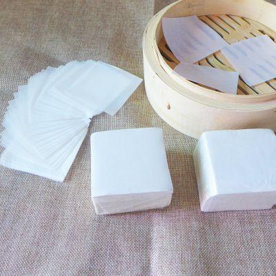 方形包底纸馒头纸包子纸烘焙不粘蒸笼纸面包纸圆形油包底纸1000张