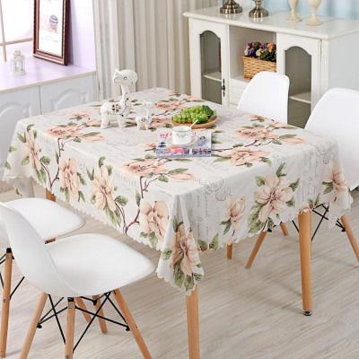 (方桌茶几百搭)【聚酯纤维】材质防水防油桌布台布易清理桌布布艺