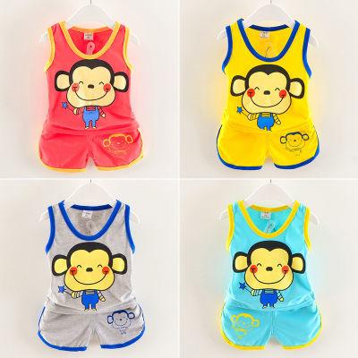 儿童睡裙女全幼儿园可爱短袖韩版件套儿童衣服外套小学生男装夏女