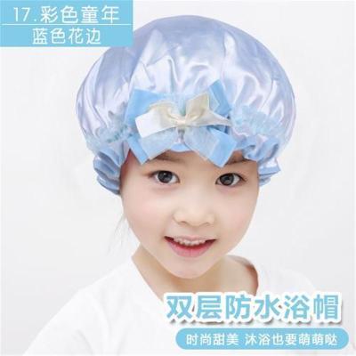 神器洗澡浴帽防水儿童男孩洗发帽童吸水女童女孩可爱宝宝中大用新