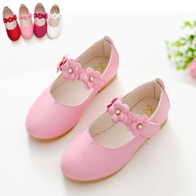 儿童高跟鞋小抓夹水钻女皮鞋冬韩版鞋夏籍皮鞋女鞋复古女女士平底