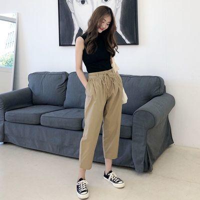 女装女童短袖套装民族风女装修身女睡衣女夏学生韩版阔腿裤套装夏