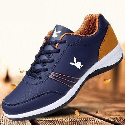 花花公子国际2020春季新款男鞋男士运动鞋网面透气休闲鞋旅游鞋