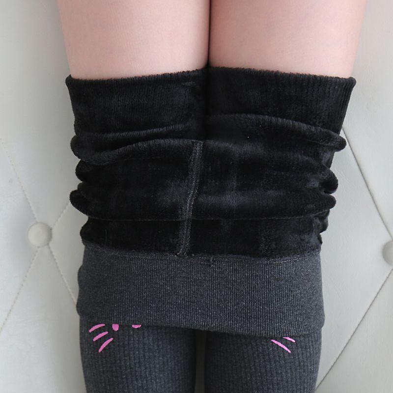 童装女童加绒打底裤儿童春秋装薄款长裤子外穿宝宝加绒踩脚一体裤