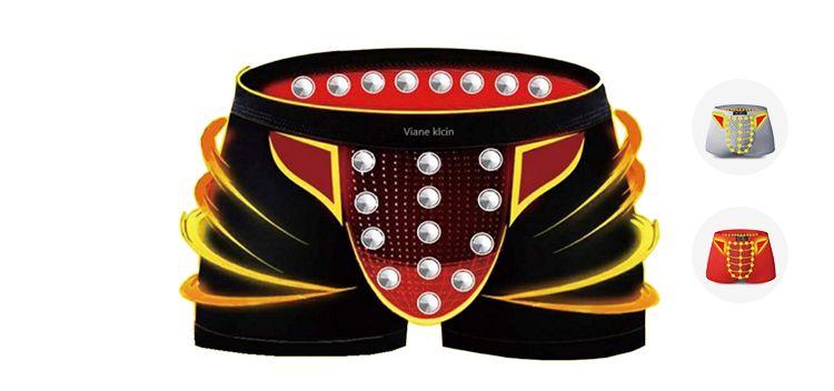 【3条】磁疗保健男士内裤VK英国卫裤官方正品男士内裤平角内裤衩
