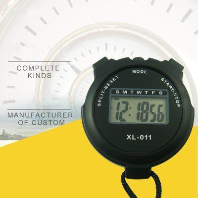 多功能数字电子秒表时间计时器体育运动田径比赛驾校日历时间闹钟