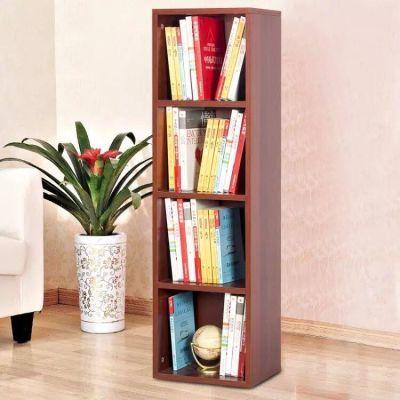 书柜书架宽30cm窄柜自由组合木质柜2/3/4/5层柜高130cm收纳储物柜