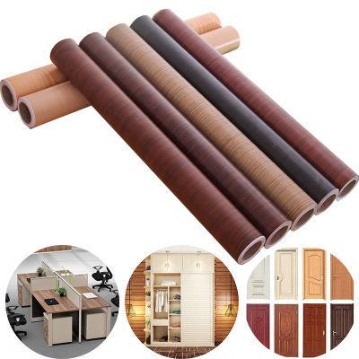 加厚木纹贴纸家具翻新贴自粘防水柜子衣柜木门桌面包门贴墙纸壁纸