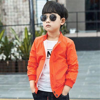 童装男童春款外套2020新款韩版男孩中大儿童秋装时尚休闲夹克衫潮